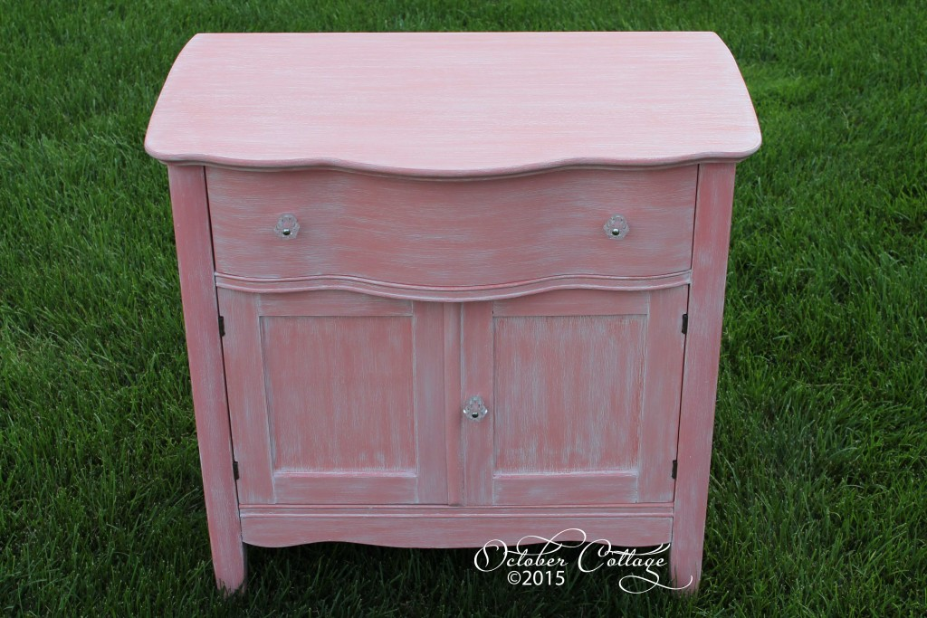 Pink set changing table wm