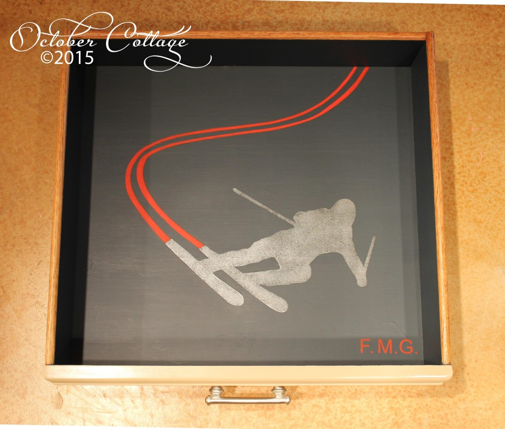 Custom dresser skier drawer 3 IMG_2185