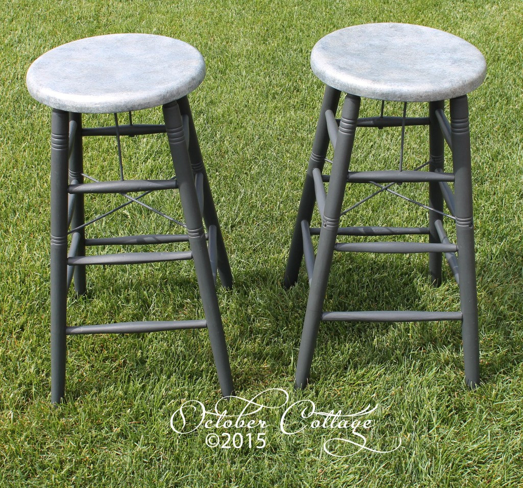 Stools silver top IMG_1355