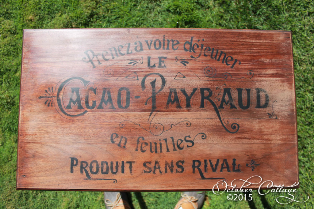 Cacao Parraud table detail IMG_0995