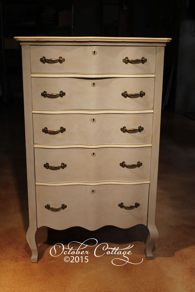 Five drawer tall dresser IMG_0806