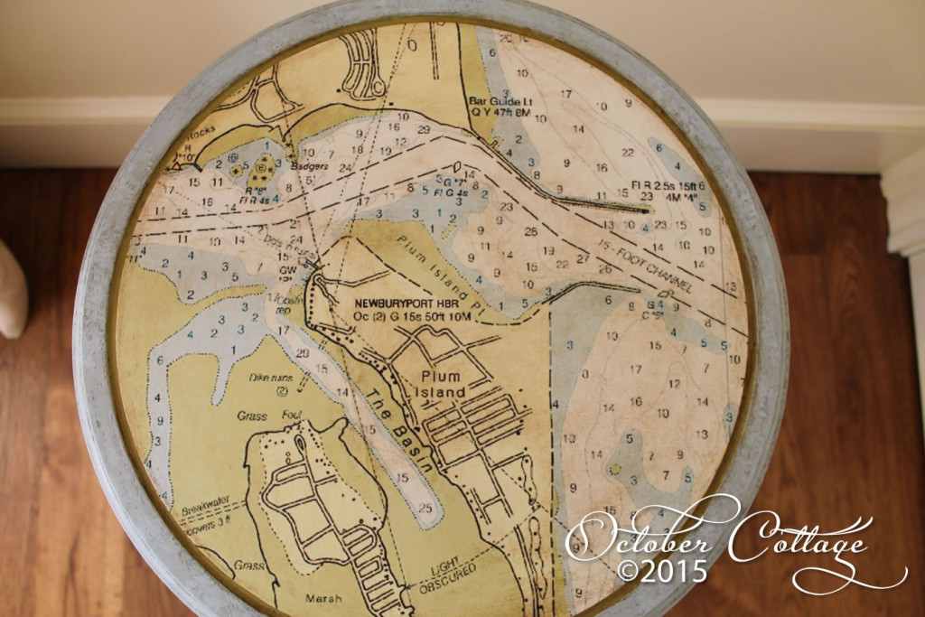 Nautical round table detail IMG_0730