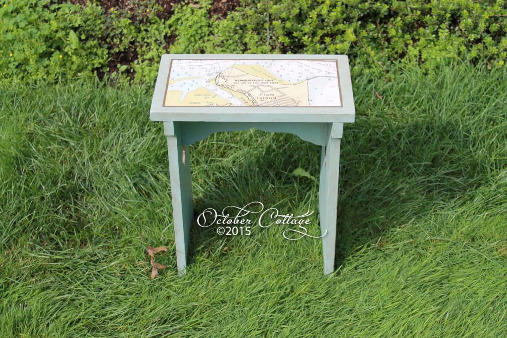 Nautical stool IMG_0976